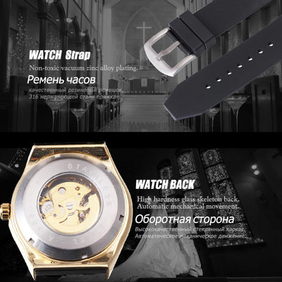 T-WINNER Rubber Watch - Market Glad ™