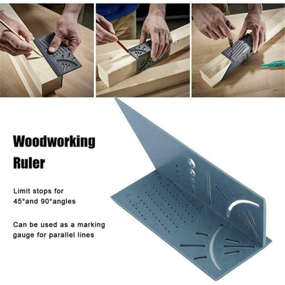 Wood Working Ruler 3D Mitre Angle