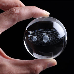 3D Solar System Crystal Ball + Free Shipping - Market Glad ™