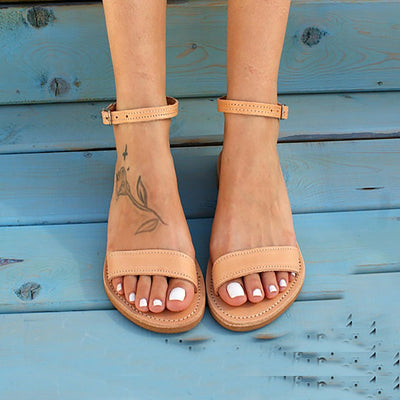 ELPIS leather sandals - Market Glad ™