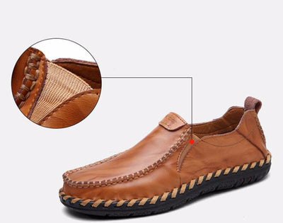 GENUINE LEATHER MOCASSIN CASUAL - Market Glad ™