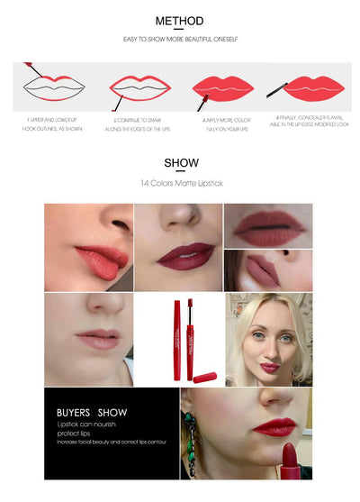 Waterproof Moisturizing Lipsticks - Market Glad ™