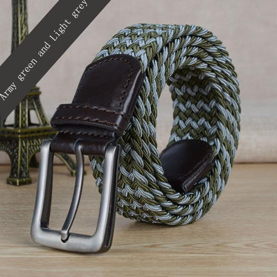 Canvas Multicolored Braided Belts - Market Glad ™