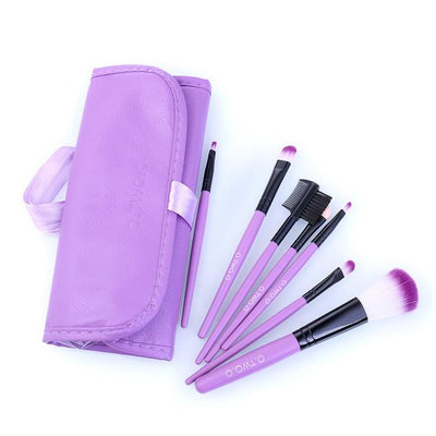 7pcs/lot Red Make Up Brushes Set - Market Glad ™