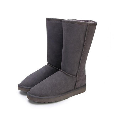 Genuine leather Fur Snow boots - Market Glad ™