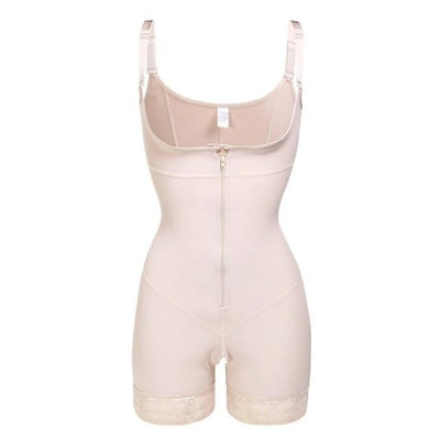 Women's Zipper Slimming Bodysuit Shapewear Free Shipping