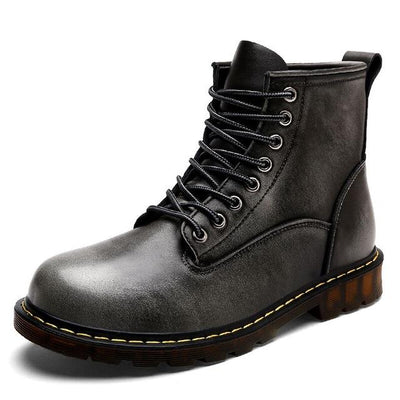 High Quality Genuine leather Autumn Men Boots - Market Glad ™