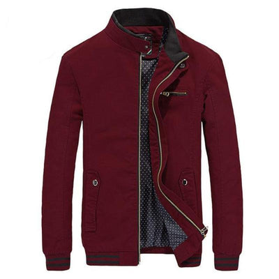 Jacket Male Coats Zipper - Market Glad ™