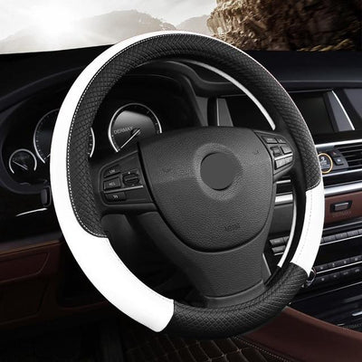 Universal Leather Car Steering Wheel Cover - Market Glad ™