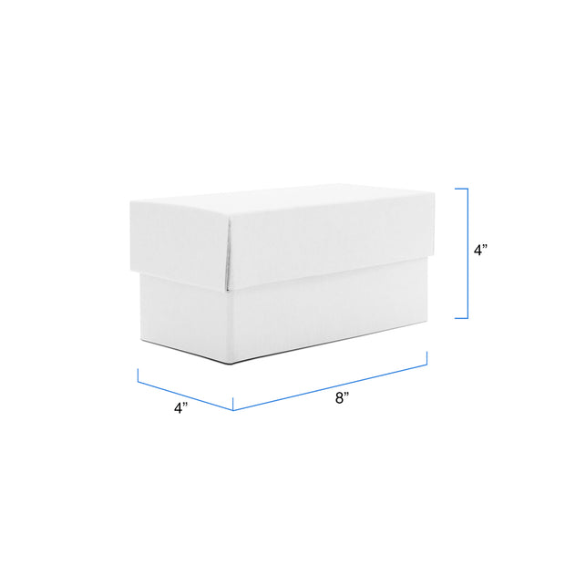 Caja de regalo Rectangular - BLANCA