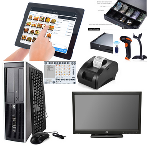 Best Deal Tablet & PC Combo Kit  POS Point of Sale System Intel Core i3 Retail Store