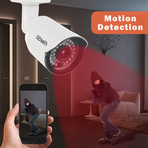OUTDOOR-INDOOR Surveillance Cameras system, dvr kit, security camera 4 CH H.264 Smartphone