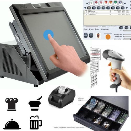 NCR POS System comes from Toy and R us Point of Sale Restaurant Salon Retail Convience