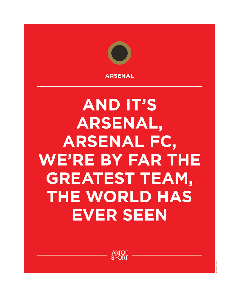 Arsenal - Greatest Team