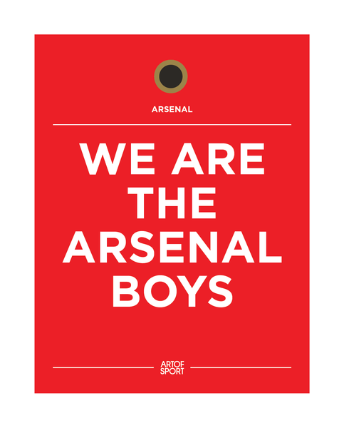 Arsenal - We Are The Arsenal Boys