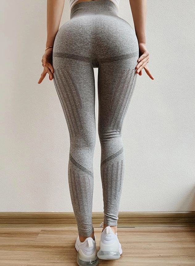 Max Lift Full Length Legging - Gray - OUTCAST DISTRICT