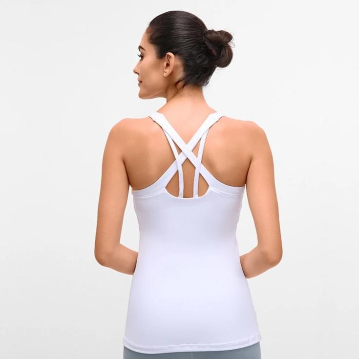 Slim Fit Fitness Tank Tops - White - OUTCAST DISTRICT