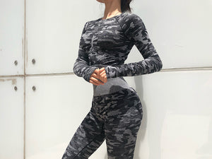 Camo Training Set - Black - OUTCAST DISTRICT