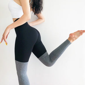 Contrast Full Length Legging - Black - OUTCAST DISTRICT