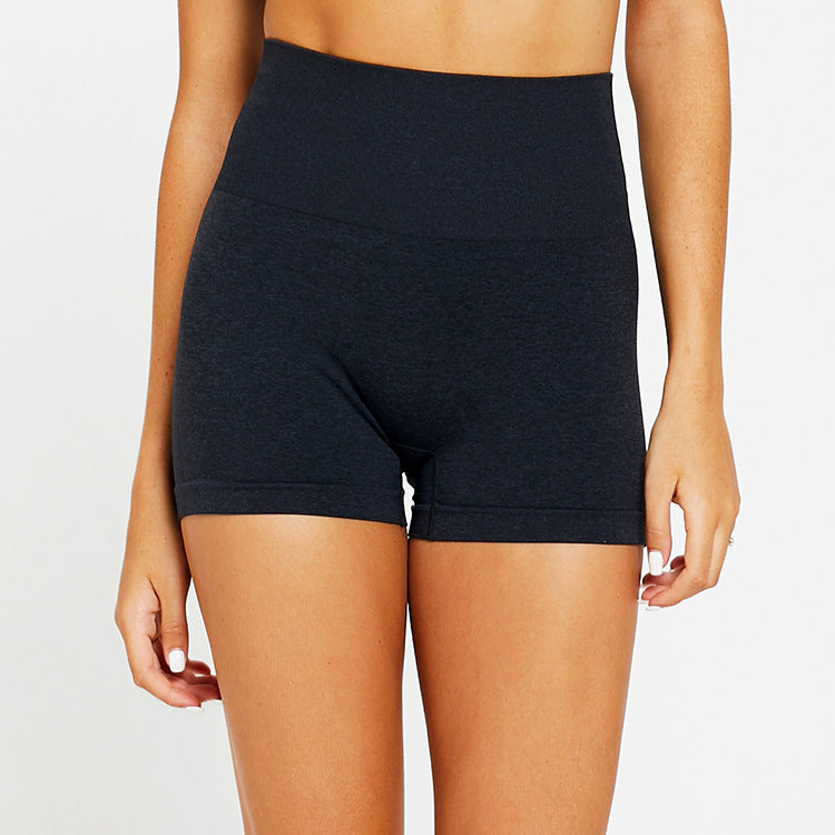 Seamless Acceleration High Waist Shorts - Black - OUTCAST DISTRICT