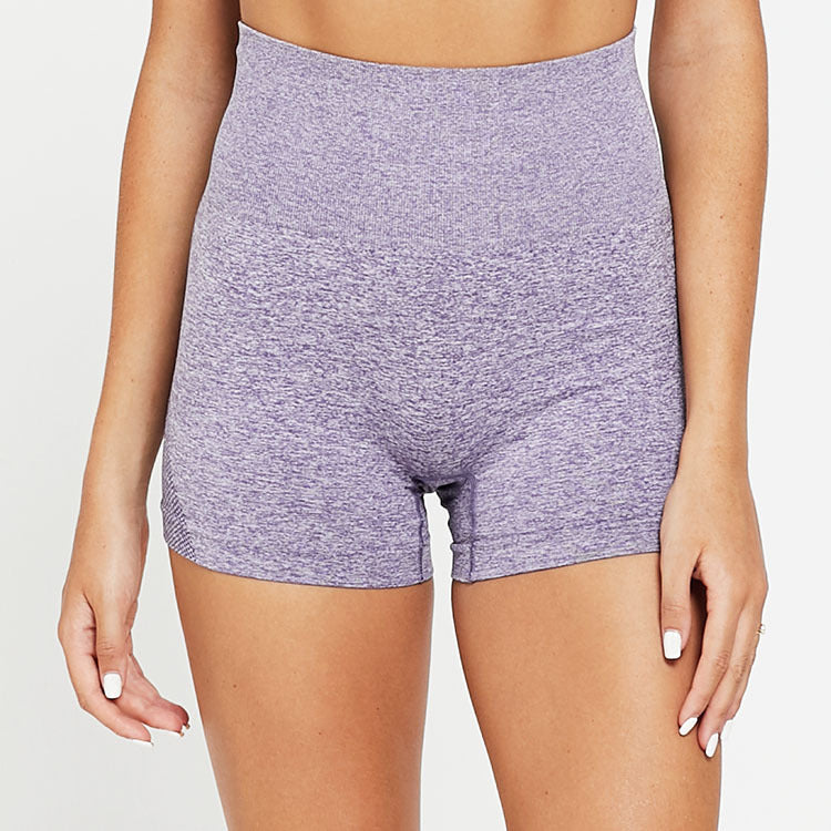 Seamless Acceleration High Waist Shorts - Purple - OUTCAST DISTRICT