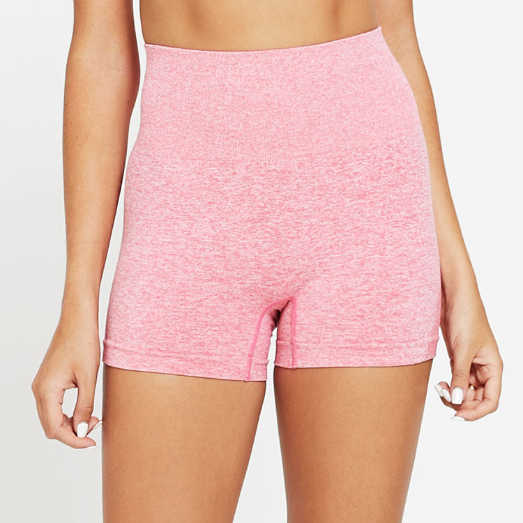 Seamless Acceleration High Waist Shorts - Pink - OUTCAST DISTRICT