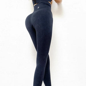 Ashy Seamless Full Length Legging - Black - OUTCAST DISTRICT