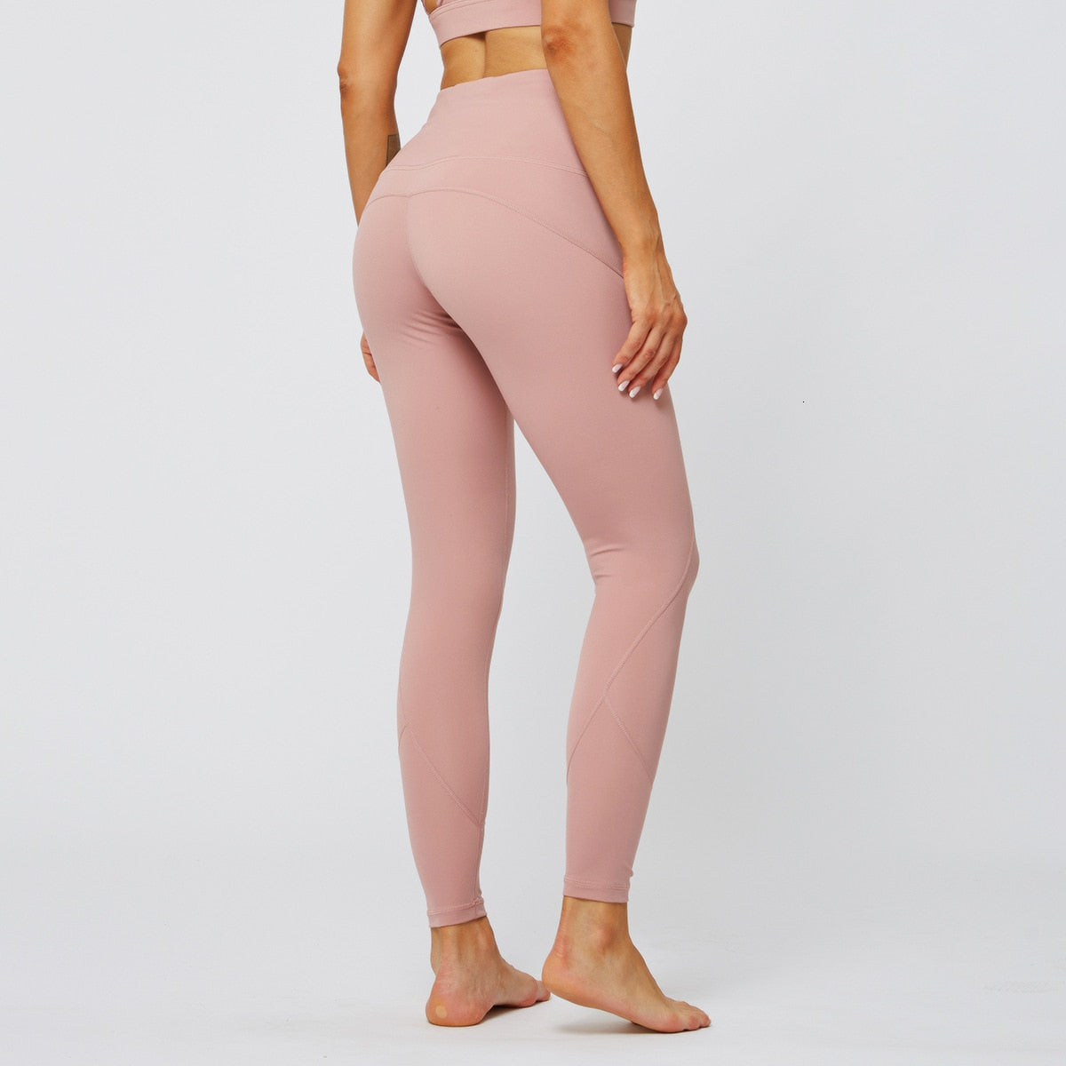 MAX Support Fitness Full Length Legging - Pink - OUTCAST DISTRICT