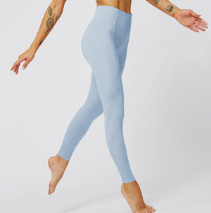 MAX Support Fitness Full Length Legging - Blue - OUTCAST DISTRICT