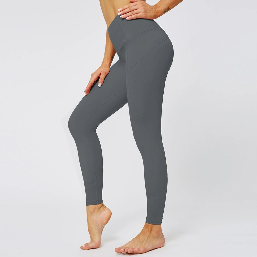 MAX Support Fitness Full Length Legging - Deep Gray - OUTCAST DISTRICT