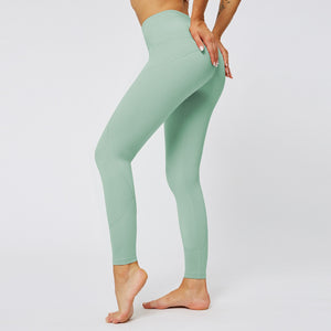 MAX Support Fitness Full Length Legging - Green - OUTCAST DISTRICT