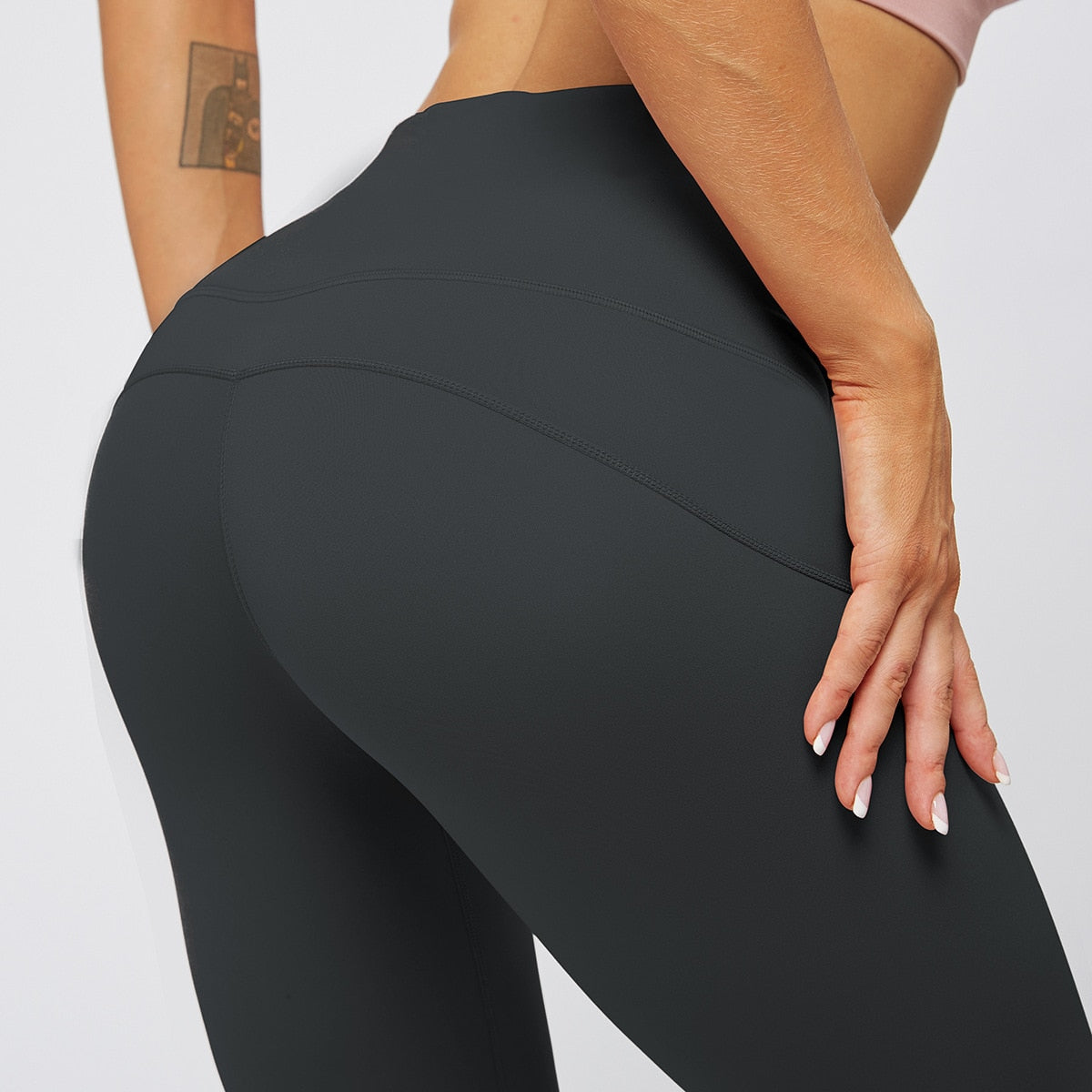 MAX Support Fitness Full Length Legging - Black - OUTCAST DISTRICT
