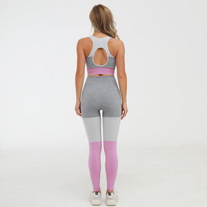 Tri-Color Workout Set - Pink - OUTCAST DISTRICT