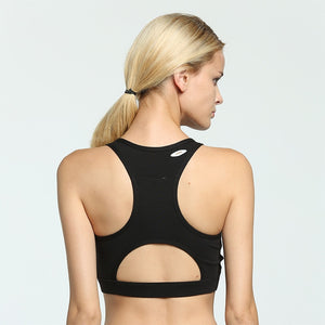 Back Pocket Intense Sport Bra - Black - OUTCAST DISTRICT