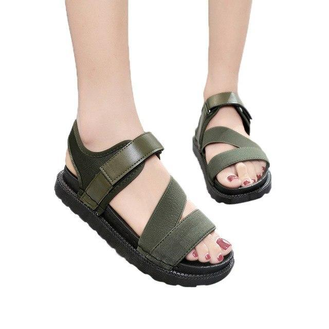 2018 Summer Gladiator Women Flat Fashion Female - Danish Fashion & Living Online Store SALE
