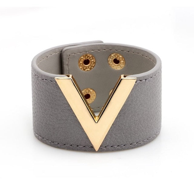 Victoria Leather Bracelet - Danish Fashion & Living Online Store SALE