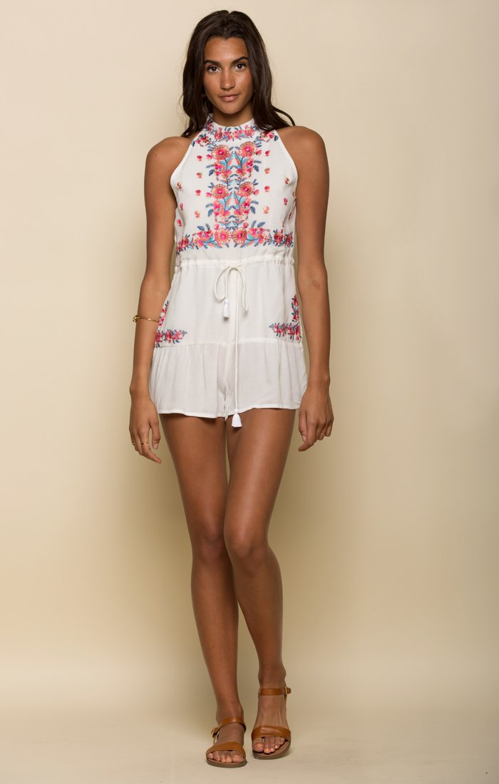 MARIAH HIGH NECK ROMPER - Danish Fashion & Living Online Store SALE