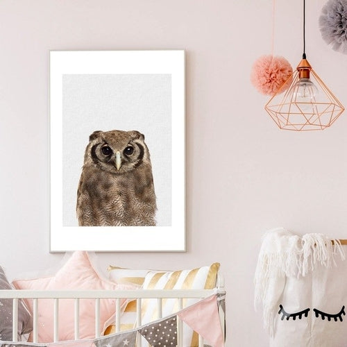 Scandinavian Owl Canvas - Danish Fashion & Living Online Store SALE