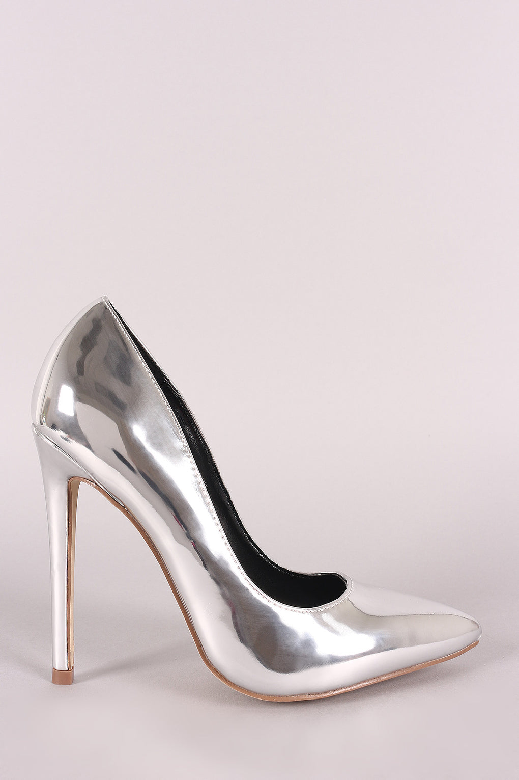 Shiny Patent Pointy Toe Stiletto Pump - Danish Fashion & Living Online Store SALE