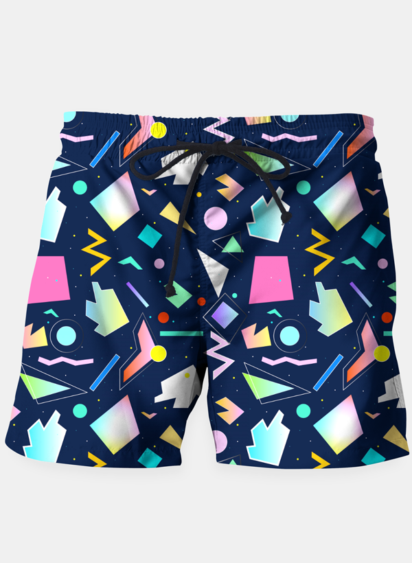 Funny Colorful Pattern Shorts - Danish Fashion & Living Online Store SALE