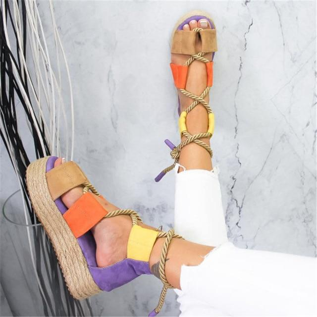 PRIMA Platform Sandals - Danish Fashion & Living Online Store SALE