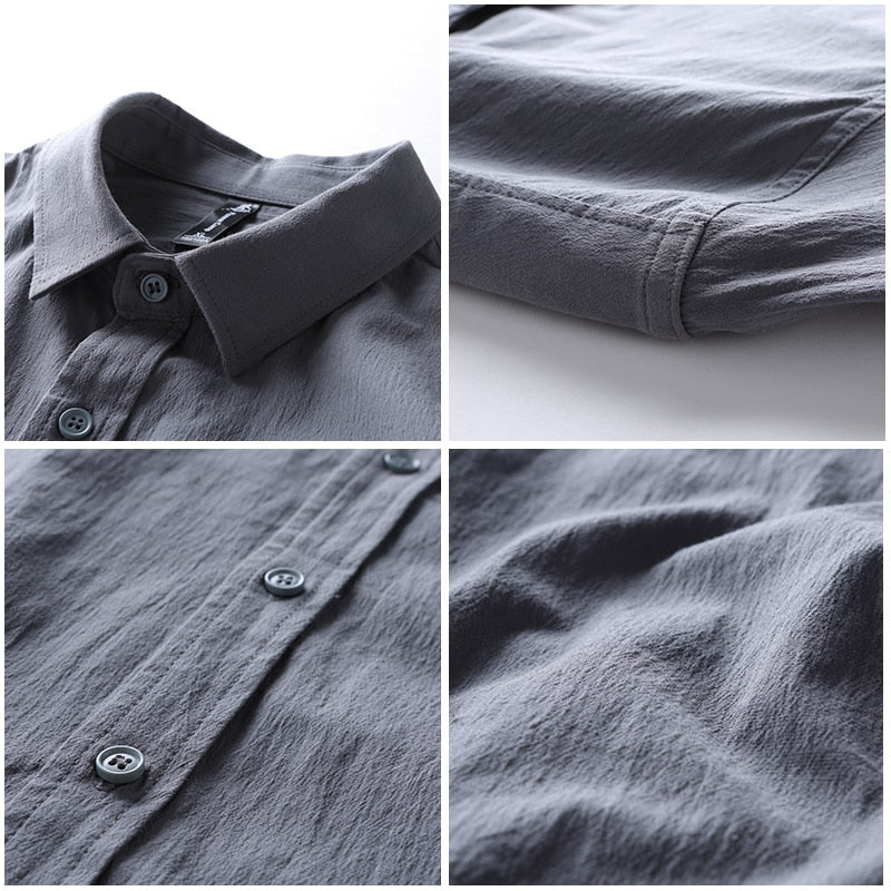 Casual Sold Shirt - Danish Fashion & Living Online Store SALE