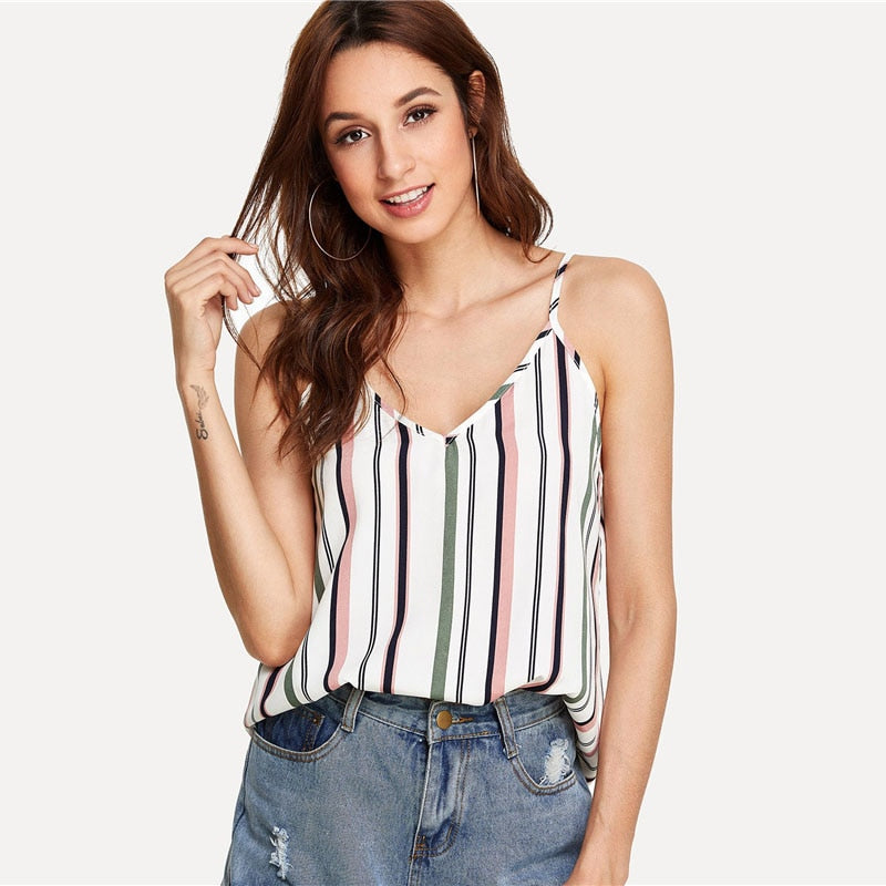SStriped Cami Top - Danish Fashion & Living Online Store SALE
