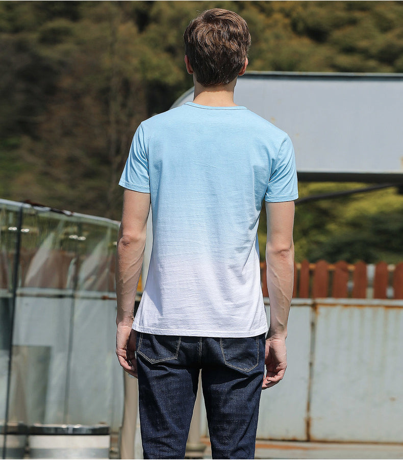 Pioneer Camp Gradient Tee - Danish Fashion & Living Online Store SALE