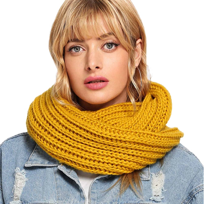 Knit Infinity Scarf - Danish Fashion & Living Online Store SALE