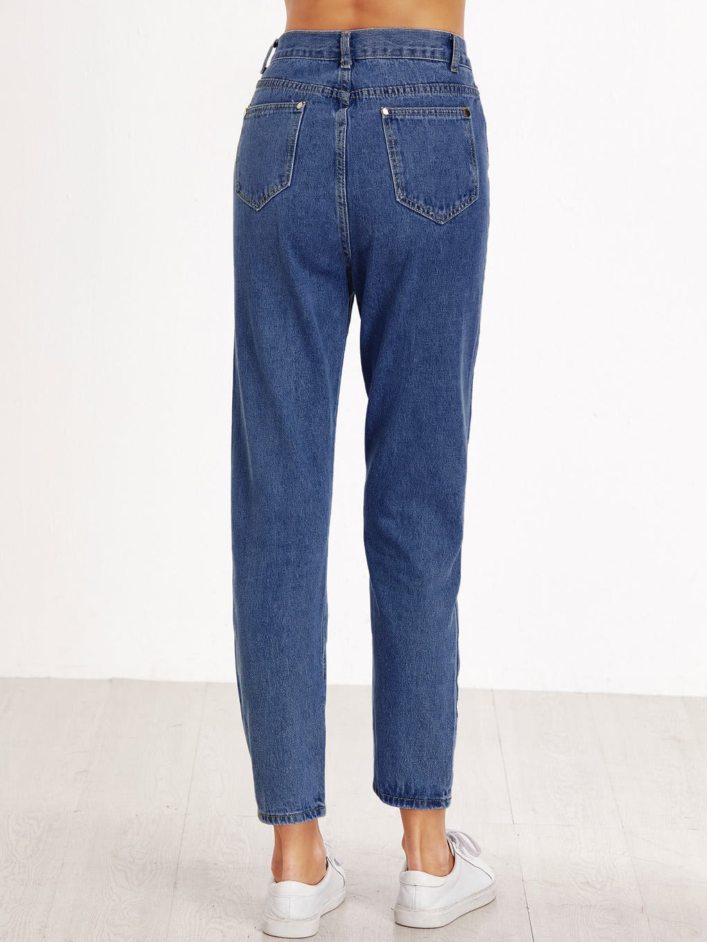 Straight Leg Mom Jeans - Danish Fashion & Living Online Store SALE