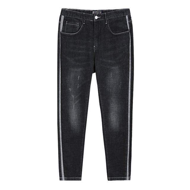 Striped Jeans - Danish Fashion & Living Online Store SALE