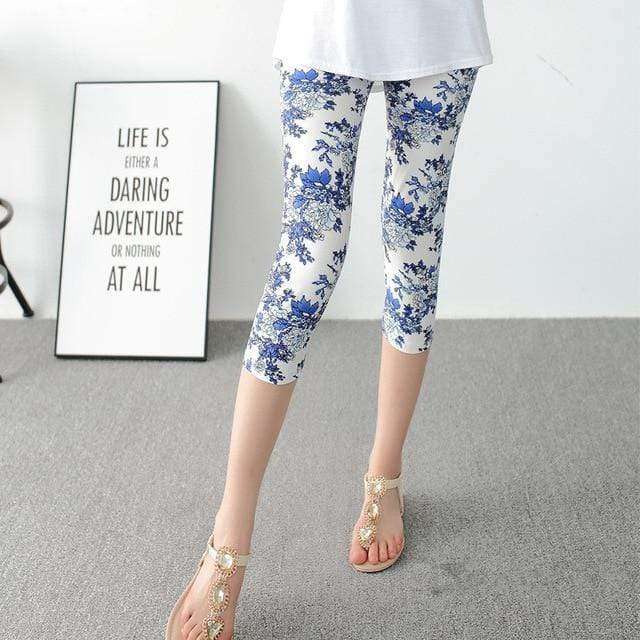 Summer Capri Leggings - Danish Fashion & Living Online Store SALE