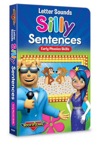 Letter Sounds - Silly Sentences Board Book