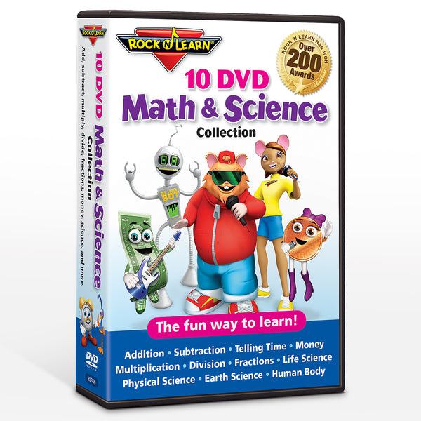 Math & Science 10 DVD Collection
